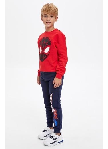 DeFacto Erkek Çocuk Spiderman Lisanslı Baskılı Eşofman Altı Mavi